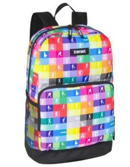 amplify multicolor checkered backpack 17 inch school