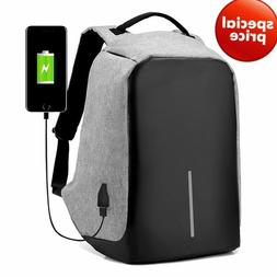 anti theft backpack 15 inch usb charging