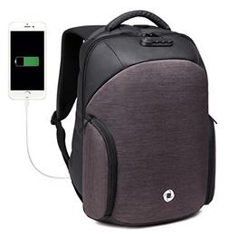 OZUKO Anti Theft Business Laptop Backpack with USB Charging