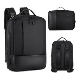 Anti-theft Men Women Laptop Notebook Backpack USB Charger Bu