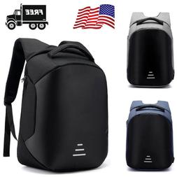 Anti-theft Men/Womens Laptop Notebook Backpack+USB Charging