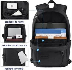 Anti-theft Travel Backpack Business Laptop Book School Bag w