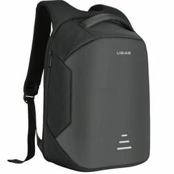 Anti-theft Unisex Laptop Notebook Backpack USB Charging Busi