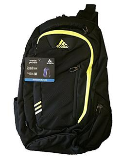 ADIDAS ARIES Backpack Blk/Yellow Climacool Tech Friendly Lap