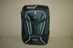 "High Sierra AT7 Carry-on Wheeled 22"" Duffel with Backpack St"