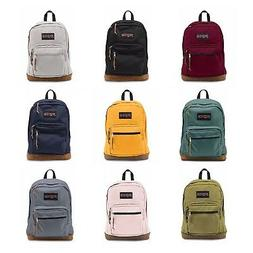 Authentic Jansport Right Pack Backpack Student School Laptop