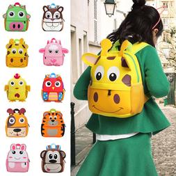 Baby Kids Boy Girl Animal casual Backpack Cartoon Small Shou