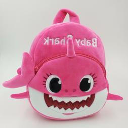 Baby Shark Backpack Plush Cute Cartoon Animal Bag For Childr