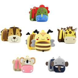 Baby Toddler Kids Child Mini Cartoon Animal Backpack Schoolb