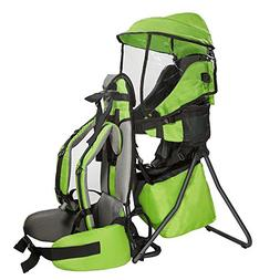 Clevr Cross Country Baby Backpack Hiking Carrier with Stand