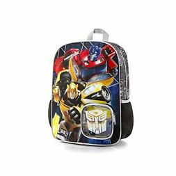 Transformers Backpack 15 Inch Black School Bag for Boys