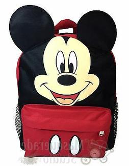 Small Backpack - Disney - Mickey Mouse Face/Ears New School
