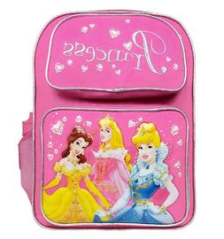 Backpack - Disney - Princess - Large Backpack with Water Bot