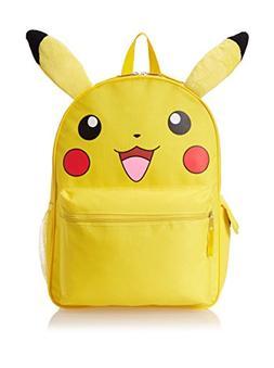 Backpack - Pokemon - Pikachu Face 16 New Boys School Bag 839