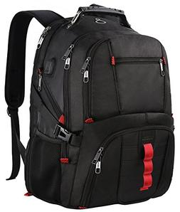 Extra Large Backpack,TSA Friendly Durable Travel Computer Ba