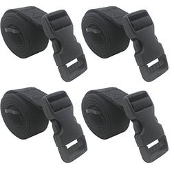 """YYST 4 PCS 1"""" X 48"""" Backpack Accessory Strap Luggage Strap C"""