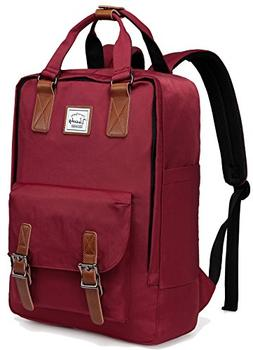 Backpack for Women,VASCHY Vintage Laptop Backpack Water-Resi