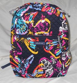 Vera Bradley Backpack Butterfly Flutter Colorful New