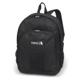 Everest Backpack Carry Shoulder Bag w/ Front & Side Pockets