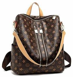 Backpack,Designer Fashion Leather Backpacks Purse for Women