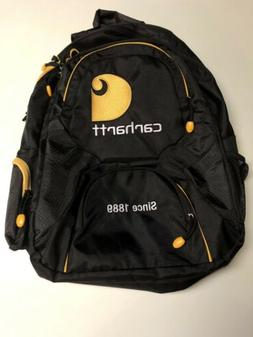 Carhartt Backpack Embroidered Since 1889 Black/Yellow Workwe