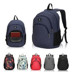 Backpack for Men Boys College School Bookbag Travel Camping