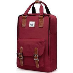Backpack For Women,VASCHY Vintage Laptop Water-Resistant Sch
