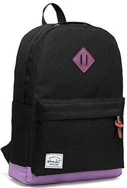 Backpack for Teen Girls, Vaschy Unisex Classic Water Resista