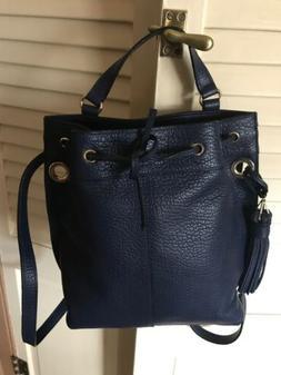 Nanette Lepore Backpack In Dark Blue NWOT