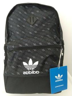 "Adidas Backpack Men Boys 15"" Laptop School Black White Water"
