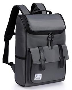 Backpack for men,Vaschy Vintage Water Resistant Daypack Ruck