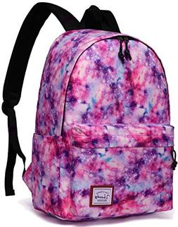 Backpacks for Girls,VASCHY Cute Lightweight Casual Water-Res