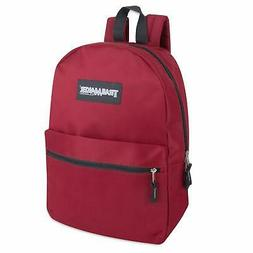 Backpacks, School Bags, Classic Solid with Adjustable Padded