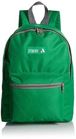 Everest Basic Backpack, Emerald Green, One Size