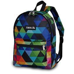 Everest Basic Pattern Backpack, Prism, One Size
