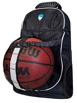 basketball backpack - soccer backpack with ball compartment