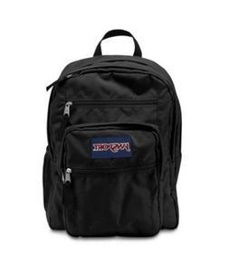 JanSport Big Student Backpack Black NWT