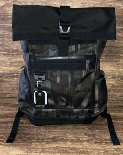TUMI Birch Rolltop Backpack, Green Camo , $365, New, NWT