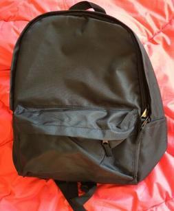 Amazonbasics Black Classic Backpack  RN#116400 Polyester