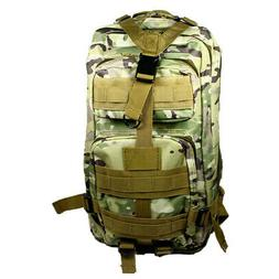 Black 30L Military Tactical Multicam Backpack Rucksack Sport