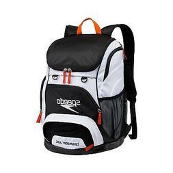 Speedo Black/White Teamster Backpack