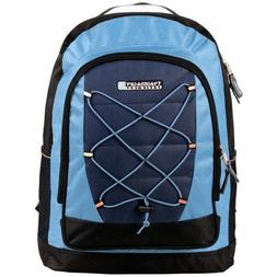 Blue Trail Maker Bungee System Outdoor Student School Backpa