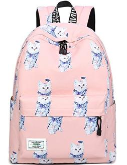 Bookbags for Teens, Cute Animal Cat/Kitty Laptop Backpack Sc