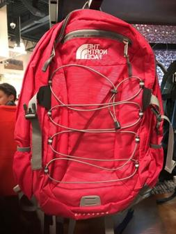 """THE NORTH FACE  Borealis Backpack Daypack ROSE RED  15"""" LAPT"""