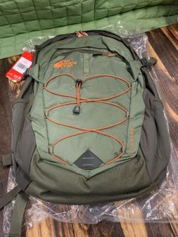 The North Face Borealis Backpack - Green/Orange
