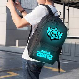 Brand Cool Luminous <font><b>School</b></font> Bags for Boys