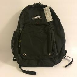 High Sierra Brand New Backpack Black Padded Pockets College