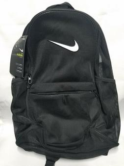 Nike Brasilia Mesh Backpack - Black