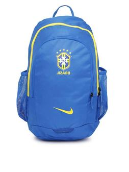Nike Brazil Fan Stadium Backpack - Sports Soccer Blue Yellow