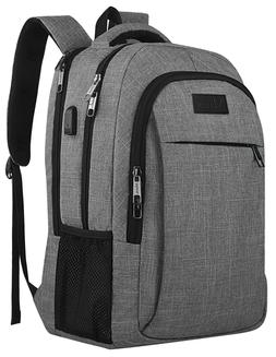 Business Travel Backpack, Anti Theft Laptops Bag with Lock,